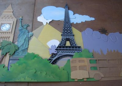 3-D Art Construction