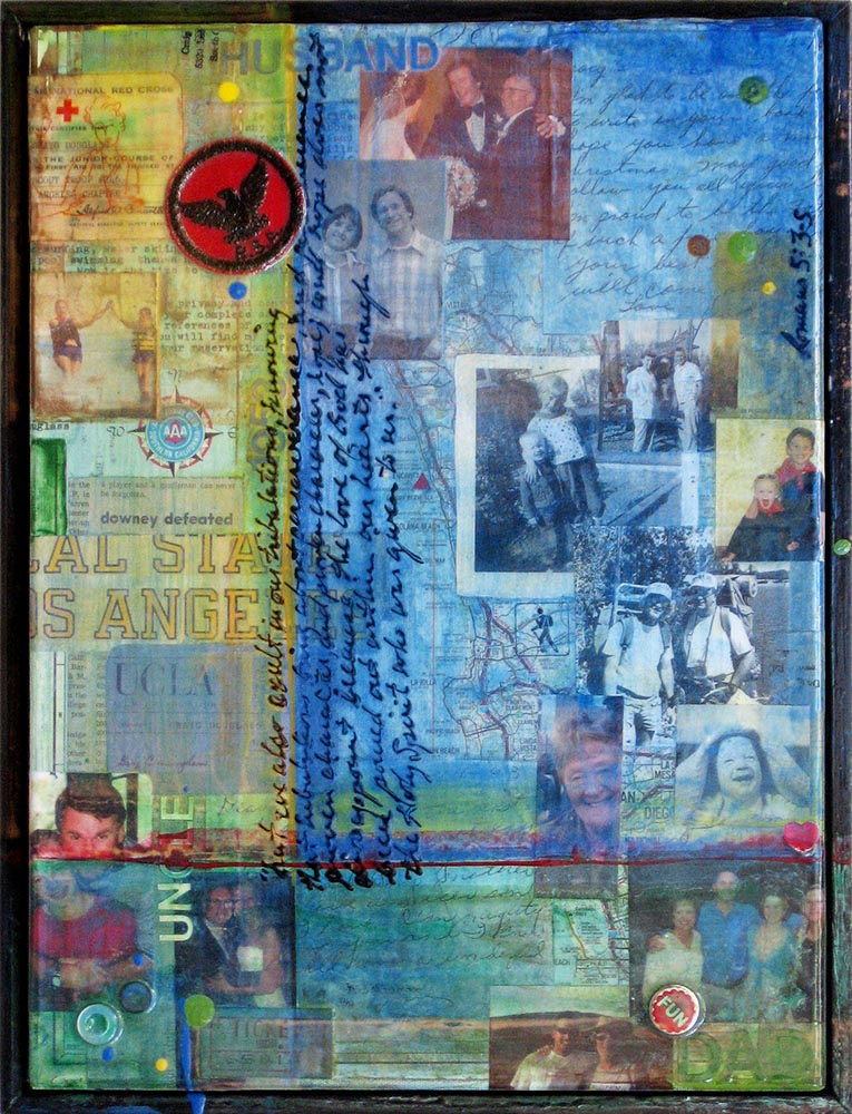 60th Birthday Collage