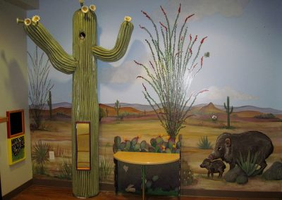 Cactus with Mural