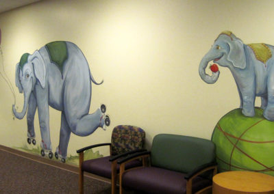 Elephant Themed Waiting Room
